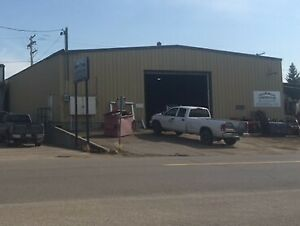 PRIME LOCATION:   Shop and Yard For Sale or Rent