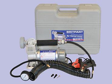 Britpart 12 Volt Car  4x4 Portable Air Compressor  Tyre Inflator DA2354