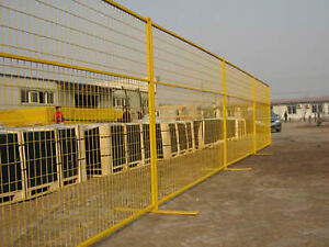 Construction Fence - Temporary Fence Rental - Safety