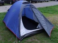 Quecha T3+ model 3 person tent, 4.6kg, used twice