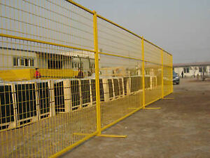 Temporary Fence Rentals - Construction - Pedestrian - Safety