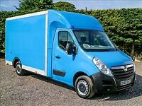 24/7 Excellent Man With Van From £15/H. Hire Luton Tail Lift Van/ 7.5 Tonne Lorries Available.
