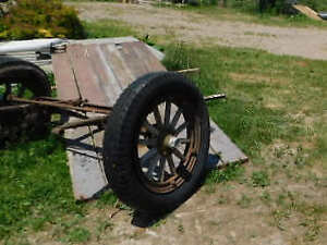 Essex Front Axle and spoke wooden rims