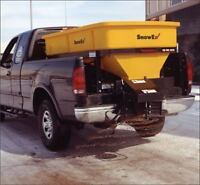 Salting Parking Lots - Snow Plow and Salting Services Georgetown