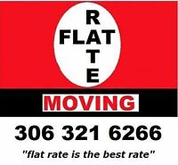 "FLAT RATE MOVING - ""flat rate is the best rate"""