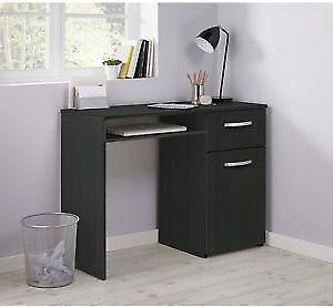 Argos Home Hayward Office Desk Black With Ryman Swivel Chair