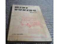 Original J H Haynes Mini Tuning Manual 1964 In Very Good Condition