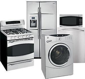 Laveuse Sécheuse Frigo Cuisinière Washer Dryer Fridge Stove