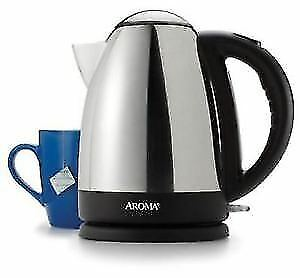 Aroma Hot H20 X-Press 7-Cup Electric Water Kettle