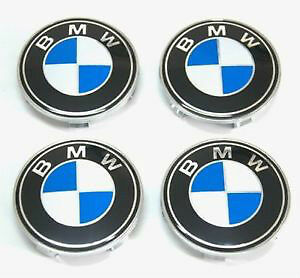 BMW - NEW - Wheel Center Hub Caps Emblem Badge Decals 68mm