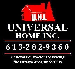 Residential & Commercial Renovations - Call Us Now 613-282-9360