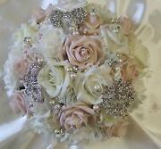 Diamante Wedding Brooch