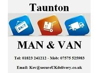 Taunton Man and Van Services - Short Notice available