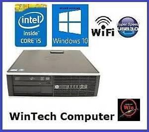 HP Elite 8300 i5 8GB Memory sff Desktop Computer