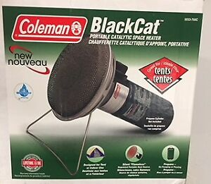Coleman heater and propane lantern