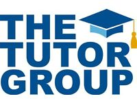 Experienced tutors required for expanding tutor comapany.