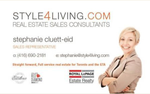 Selling your home/condo? Why choose Style 4 Living! (Toronto)