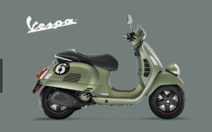 VESPA SEI GIORNI' 300 LIMITED EDITION Fulham West Torrens Area Preview