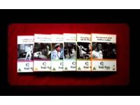 NORMAN WISDOM DVDS - 12 DISCS - FOR SALE