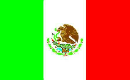 Nylglo 195709 Mexico Flag,4X6 Ft,Nylon