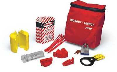 Brady Lkelo Portable Lockout Kitpouch18 Components
