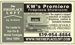 The Fireplace Loft-- One stop shop for Mantels and Fires Kitchener / Waterloo Kitchener Area image 2