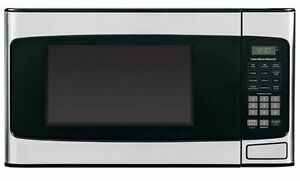 Brand New in Box 1.1 cubic Stainless Steel Microwave