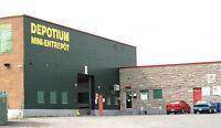 Depotium Montcalm: entrepôts et stationnements à prix avantageux