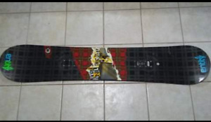 Selling my snow board.
