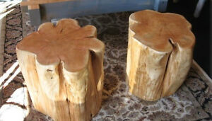 Tree tables by famous Deep Forest furnishings Comox / Courtenay / Cumberland Comox Valley Area image 2