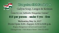 Gulyas, Langos and Kremes Fundraiser