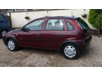 Vauxhall Corsa 1.2 Life, 5 Door Hatch,11 Months MOT, Very Low Mileage, Ideal First Car