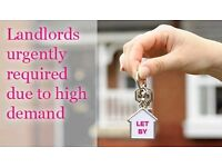 LANDLORDS URGENTLY WANTED: STUDIOS, 1-2 BED FLATS in FULHAM, West Brompton, South Kensington