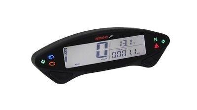 KOSO DB EX-02 Digitaler Tachometer Speedometer schwarz