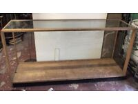 VICTORIAN GLASS CABINET FOR SALE/ RETAIL DISPLAY/ HOMEWARE/ £150