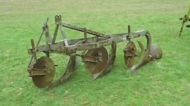 Ferguson Three Furrow Trailing Plough