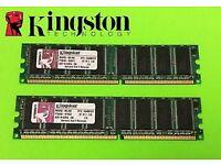 KINGSTON PC/MAC RAM MEMORY 512MB BRAND NEW SEALED IN BOX