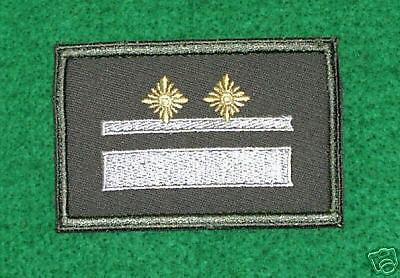1 Stück Dienstgradabzeichen NVA Dienstgrad : Leutnant !