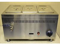 lpg bain marie never used comes with bottle and regulator
