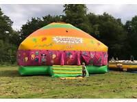 Mega Commercial Disco Dome bouncy castle for sale