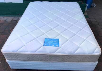 Comfortable Queen Bed Set for sale. Delivery can do