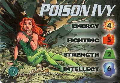 OverPower: Poison Ivy 4-Grid Character Card [Ungraded] - CCG Marvel DC Image