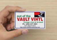 Out of the Vault Vinyl  NEW ARRIVALS WEEK OF FEB 8