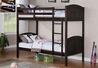 Twin / Twin Bunk Bed (B-144) ( King Koil Spine Support Mattress)