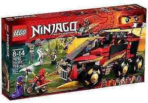 LEGO NINJAGO Mobile Ninja-Basis 70750 NEU/OVP