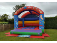 Bouncy Castle hire in and around Tiverton, Devon for Childrens parties, fetes or weddings.