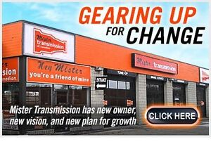 TRANSMISSION REPAIR , REBUILD , ADJUSTED , LEAKS FIXED