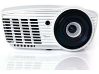 Complete Home Cinema Set: Optoma HD50 projector +5.1 Panasonic speakers +Blue ray + Projector Screen