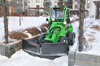 Avant small front loader looking for snow work