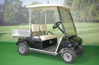 Electric Golf Cart with Aluminum Box